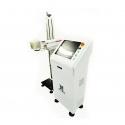 Online marking system fiber laser