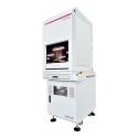 Marking system with enclosures fiber laser