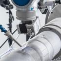 Shaft repair using laser cladding