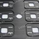 Anoduoto aliuminio markiravimas fiber lazeris