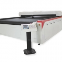 Large area laser cutting system for textile