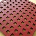 Leather cutting