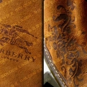 Leather engraving